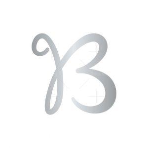 Letter B Butterfly Logo