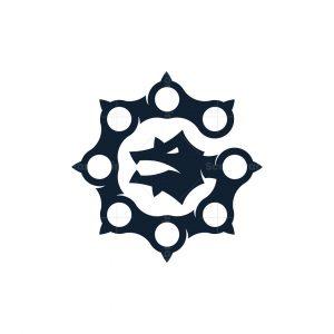 Metal Snake Letter G Logo