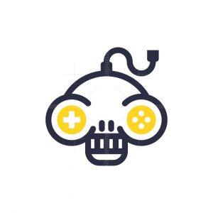 Joystick Skull Logo