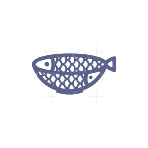 Fish Seafood Restaurant Logo