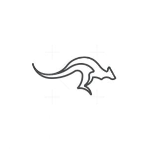 Kangaru Monoline Logo