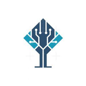 Tree Circuit Logo