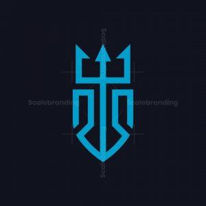 Trident S Shield Logo