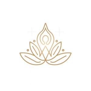Yoga Lotus Logo