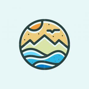Beach Outdoor Logo
