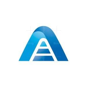 Alpha Tech Letter A Logo