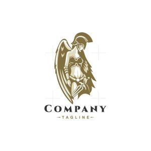 Angel Guardian Warrior Logo