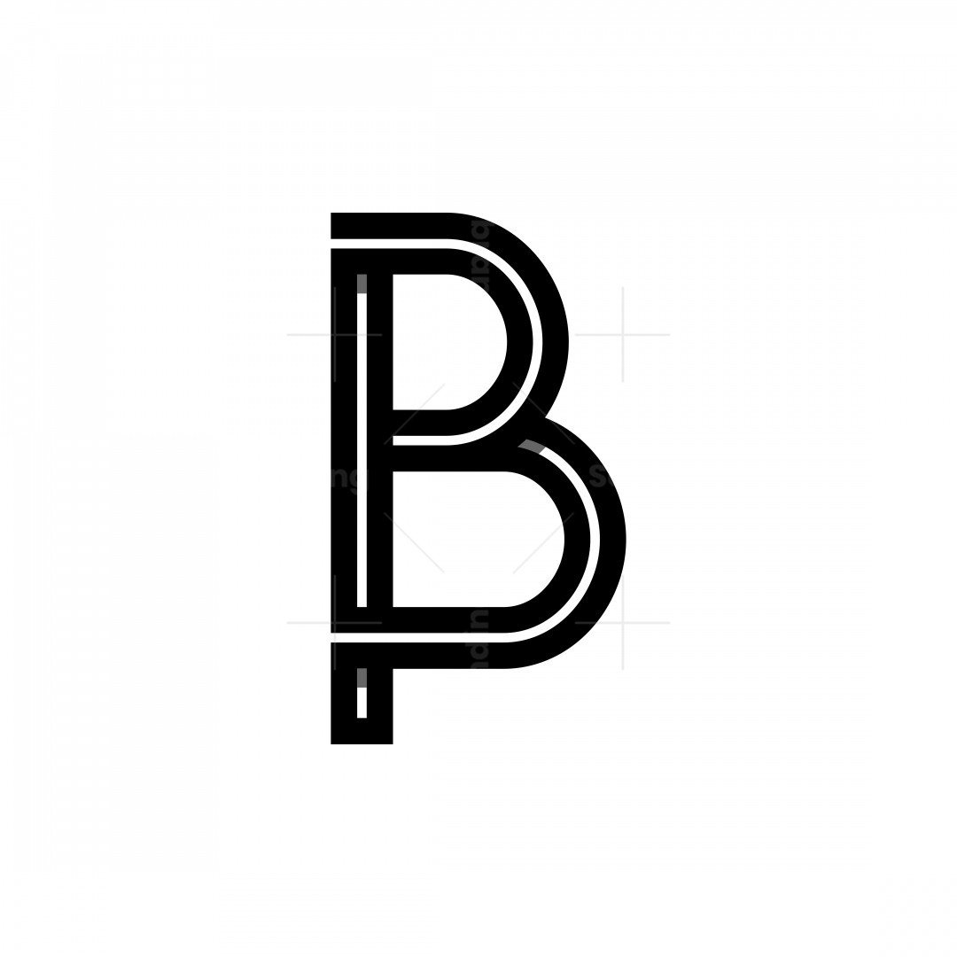 Bp Or Pb Letter Logos