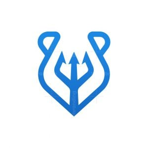 Bear Trident Logo