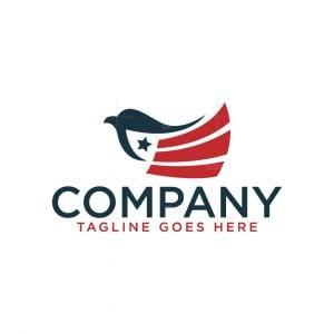 Bird Flag Logo
