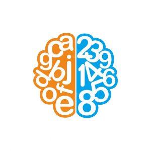Brain Number Logo