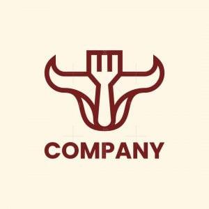 Bull Fork Logo