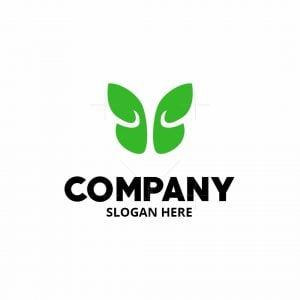 Butterfly Leaf Logomark