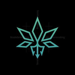 Cannabis Trident Logo