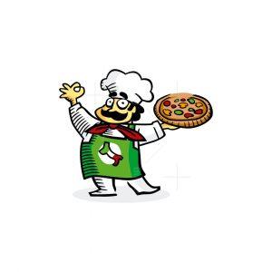 Chef Pizza Logo