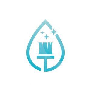 Clean Drop Logo