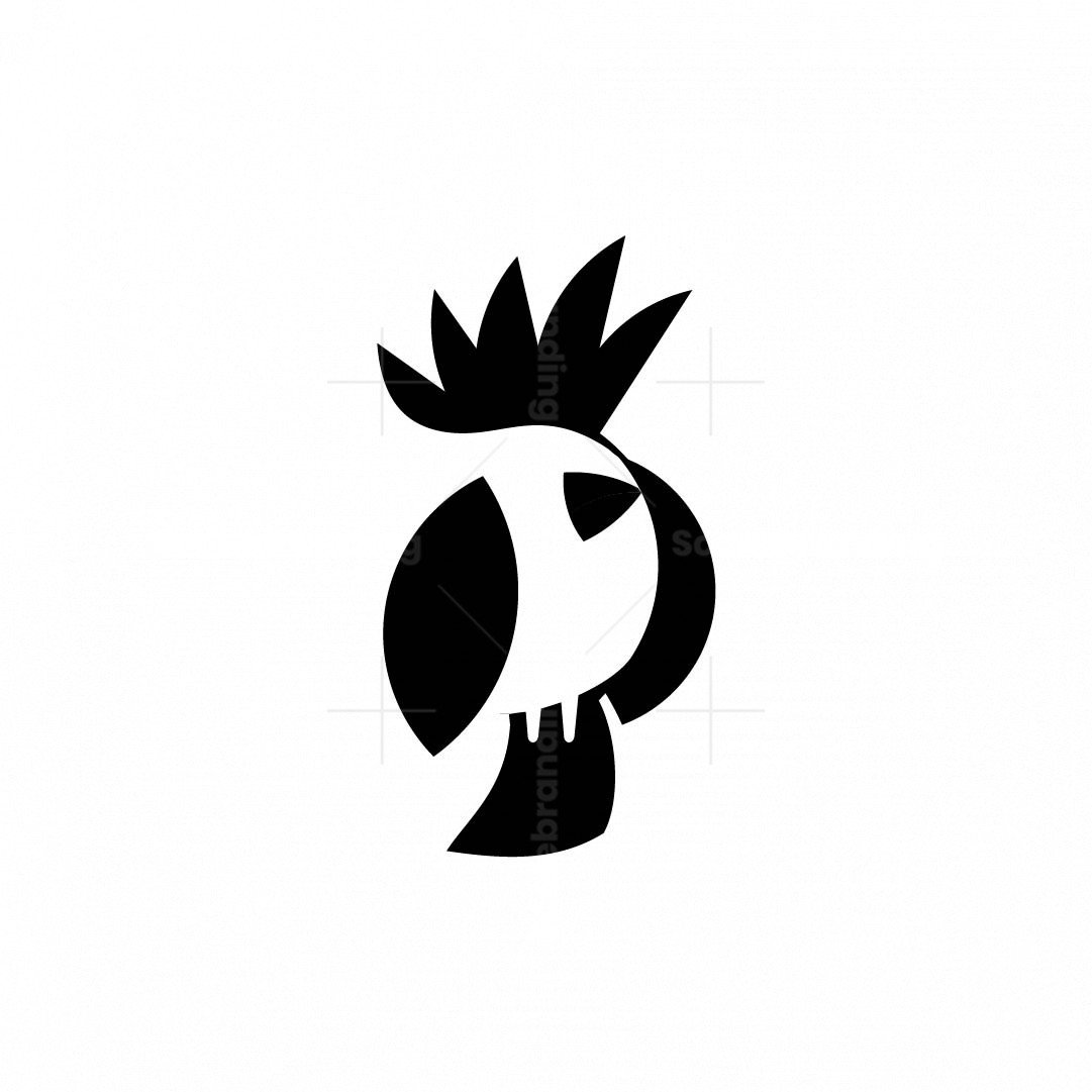 Cackatoo Bird Logo