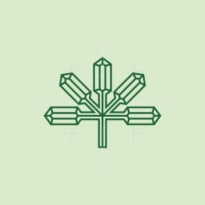 Crystal Cannabis Logo