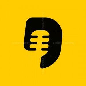 Letter D Podcast Logo