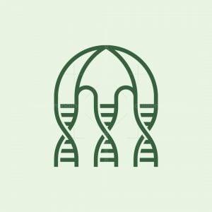Dna Jellyfish Logo