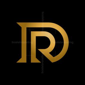 Letter D R Logo