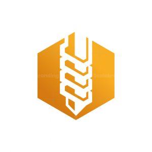 Drilling Hexagon Logo
