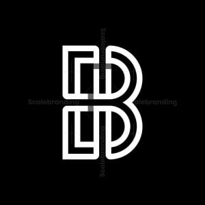 Eb Or Be Letter Logos