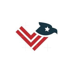 Eagle Flag Logo