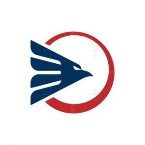 Eagle Head With Circle Logo