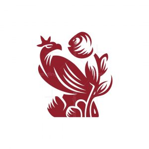 Eagle With Rose Logo