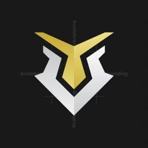 Elegant Yv Eagle Logo
