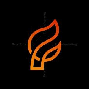 F Flame Logo