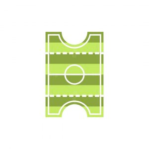 Football Ticket Logo