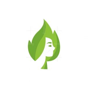 Forest Leaf Queen Logo