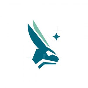 Futuristic Rabbit Logo