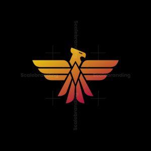 Geometric Phoenix Logo