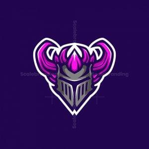 Golem Knight Mascot Logo