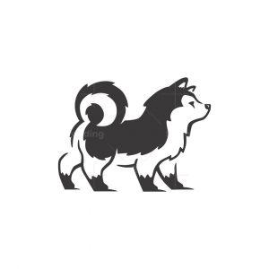 Husky Dog Logo