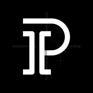 Letter Ip Or Pi Logo