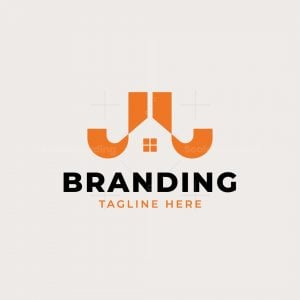 J Or Jj Monogram Real Estate Logo