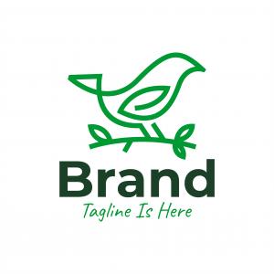 Leaf Bird Logo
