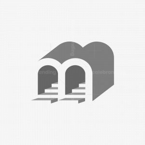Letter M Stage Arch Logo