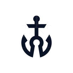 Keyhole Anchor Logo