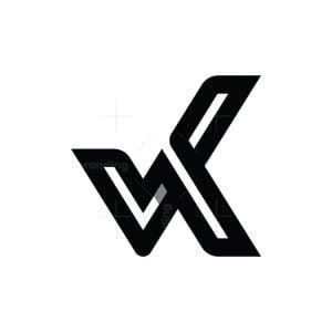Letter K Check Logo