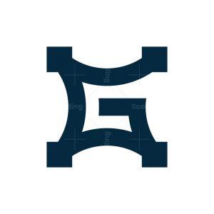 Letter G Star Logo