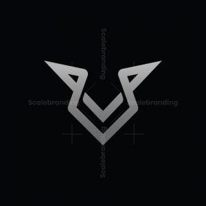Letter V Fox Logo