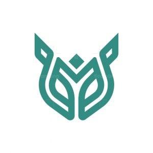 Letter Y Fox Logo