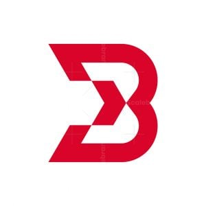 Letter B Arrow Logo