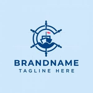 Letter C Sailing Logo