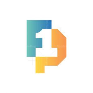 Letter Fp One Logo